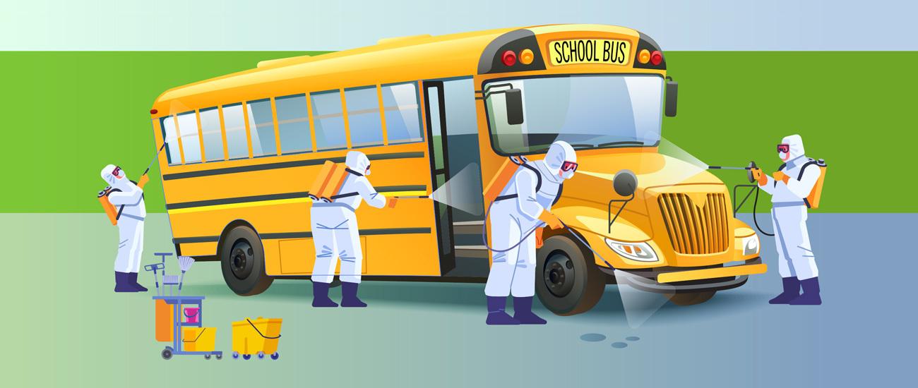 We Transport Bus Cleaning Procedures