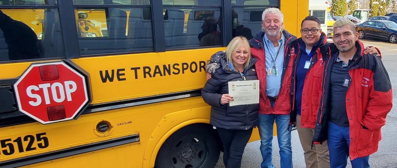 We Transport Driver Safety Award