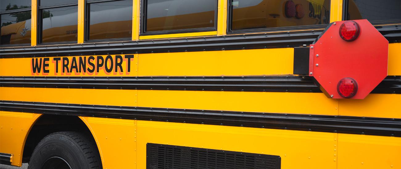 We Transport School Bus